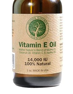 Vitamin E Oil 100 Pure  Natural  Vitamin E Oil 14000IU dalpha tocopherol Unique Blend of Oils Known to Assist in Diminishing Wrinkles Stretch Marks Promoting Skin Cell Regeneration -- Click image to review more details.