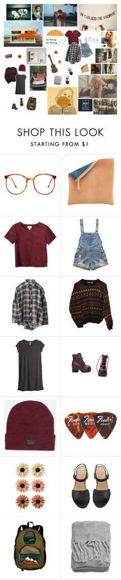 """""""GET OUT. STAND BACK."""" by silentrose ❤ liked on Polyvore featuring Prada, Gräf & Lantz, Monki, UNIF, INDIE HAIR, H&M, HUF, mae and messyhairedream"""