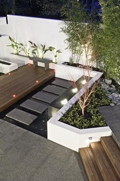 Nice and clean / cos design outside garden landscaping, gard