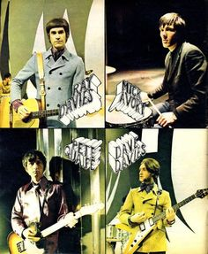 """electripipedream: """"The Kinks from Muziek Expres magazine, 1967 """" Classic Rock Bands, Best Rock Bands, Beatles, Dave Davies, 60s Rock, Bubblegum Pop, The Kinks, Band Outfits, Sibling Rivalry"""
