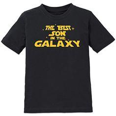 Camiseta Niño mejor de la galaxia