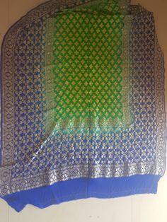 Bandhani Saree, Saris, Sequin Skirt, Sequins, Fashion, Moda, La Mode, Fasion, Saree