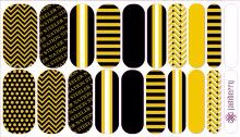 Custom Pittsburgh Steelers Jamberry Nail Wraps