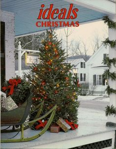 Vintage Christmas Ideals magazine cover.