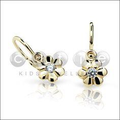 náušnice cutie jewellery zlaté žluté - Hledat Googlem
