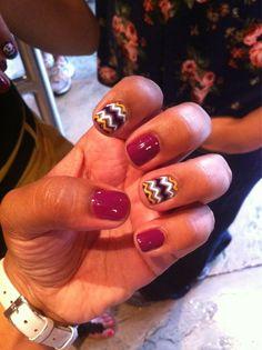 Chevron nails !