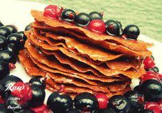 American pancakes /raw vegan/ Raw Mother&Daughter