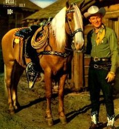 Roy Rogers knew how to love a horse, and he loved his Trigger. They remain one of the greatest duos in Hollywood history!