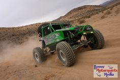 Dan Bott and Mike Odom in a Bent & Twisted Racing Car at the King of the Hammers off road race