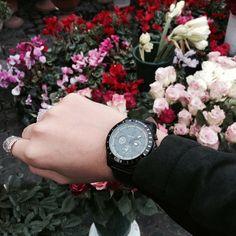 @eleonora_branca al mercato di Campo dei Fiori con #Breil