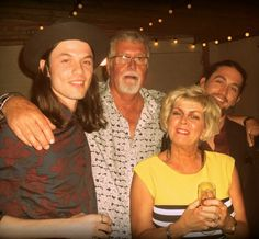 how cute! James Bay with his family