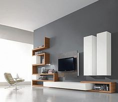 gypsum boards tv unit do it yourself - Google Search