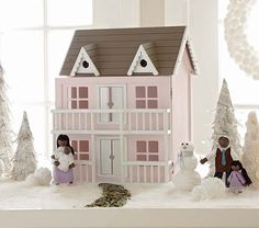 Grand Dollhouse from Pottery Barn Kids. Saved to Nana's Corner. Shop more products from Pottery Barn Kids on Wanelo. Pottery Barn Kids, Girl Decor, Baby Sale, Barbie House, Toddler Gifts, Baby Furniture, Diy Dollhouse, Christmas Love, Toys