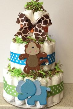 Hey, I found this really awesome Etsy listing at https://www.etsy.com/listing/198651462/safari-baby-shower-center-pieces-mini