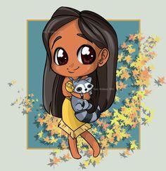Fan Art of Disney Princess-Pocahontas- for fans of Disney Princess. Disney's Pocahontas