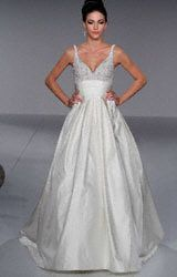 Wedding gown - Ball Gown