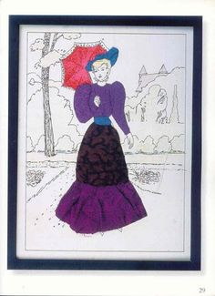 Patchwork sur carton mousse Images d'époque - Ludmila2 Krivun - Álbuns da web do Picasa...an online book of these kinds of appliqués!