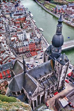 The Collegiate Church of Notre-Dame, Dinant, Belgium. Been here!