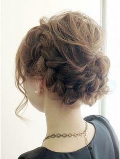 アルコバレーノ(Arcobaleno) ルーズ編み込み 愛されアレンジ Hair Arrange, Hair Setting, Girl Hairstyles, Aesthetic Fashion, Hair Makeup, Hair Beauty, Actresses, Elegant, Hair Styles