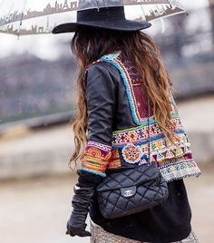 The Latest Street Style Photos From Paris Fashion Week via @WhoWhatWearUK