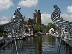 Grote Kerk in Dordrecht, Netherlands