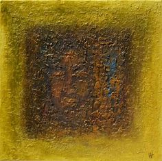 HIDDEN TREASURE - SQUARED TEXTURED ABSTRACT