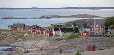 A fishing village on Jurmo island in Korpo,