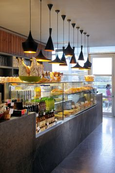 59 Ideas Design Cafe Counter For 2019 Bakery Shop Design, Coffee Shop Design, Cafe Design, Restaurant Design, Restaurant Bar, Cafe Bar, Cafe Shop, Bakery Cafe, Food Counter