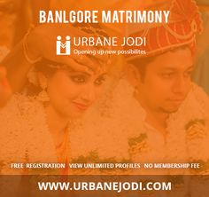 Urbane Jodi is one of the leading Bangalore based matrimony, find your related profiles on urbane jodi matrimony. Login and search for your best ever partner. To know more visit www.urbanejodi.com