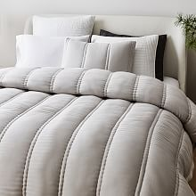 Silky TENCEL Plush Comforter, Full/Queen, Frost Gray | West Elm Welcome To My House, Small Furniture, Bedding Shop, Bedding Collections, West Elm, Sheet Sets, Decorating Your Home, Comforters, Master Bedroom