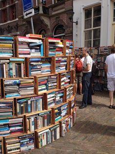 Boekenmarkt Deventer, NL - Foto: Waldy Eshuis