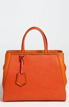 Fendi 2Jours Elite Leather Shopper | Nordstrom
