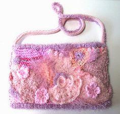 Pink Project flat purse mauve pink side 2