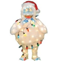 Amazon.com   ProductWorks 32-Inch Pre-Lit Rudolph the Red-Nosed Reindeer  Bumble Christmas Yard Decoration   Patio 8207110f9