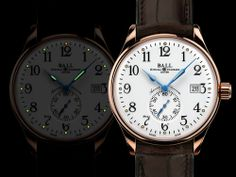 Introducing The Ball Watch Company Trainmaster Standard Time (Details & Pricing)