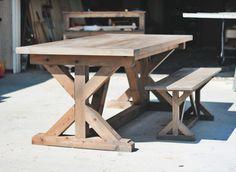 Farmhouse Style Orange County California Custom Dining Tables Table Furniture