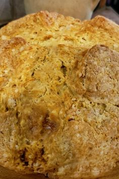"Mom's Irish Soda Bread | ""This recipe was easy to put together and the bread was delicious!"" #irishrecipes #stpatricksday #stpatricksdayrecipes Irish Desserts, Irish Recipes, Recipe For Soda Bread, Bread Recipes, Irish Bread, Golden Raisins, Baking Soda, Banana Bread, Bakery"