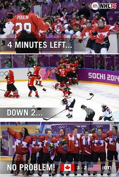 THE greatest event at the Olympics. I was on the edge of my seat screaming at the TV. Best moment ever GO CANADA GO