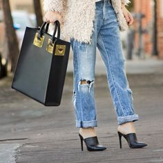 I love those shoes!!!! 50 Street Style Looks To Try This Spring via @WhoWhatWear