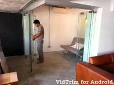 Co Space Flexible Room Folding up to Increase Living Room Space (Fold) for HDB Designer House - YouTube