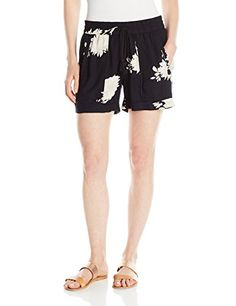 Lucky Brand Womens Floral Printed Short BlackMulti Small ** You can get more details by clicking on the image. (It is an affiliate link and I receive commission through sales)