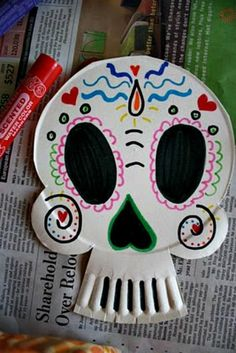 15 Day of the Dead Skull Crafts