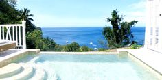 Some day I will see this view in person <3  Jalouise Plantation, St. Lucia