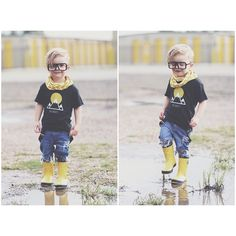 """""""Puddle Jumper!  #breaker #breakerreps #breakermiles #breakerscloset #rubberboots #boots #puddle #puddlejumper #newheights #camplightapparel #infinityscarf #glasses #fjspopshop #love #lovethis #photooftheday #photography #instababy #instacool #instagood #instalike #instalove #l4l #like4like #water"""" Photo taken by @mattjlandry on Instagram, pinned via the InstaPin iOS App! http://www.instapinapp.com (06/13/2015)"""