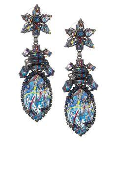 Splash Painted Earrings