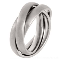 Buy Titanium Russian Wedding Ring (all brushed) from Titan Jewellery Titanium Wedding Rings, Titanium Rings, Russian Wedding, Jewelry Branding, Laser Engraving, Personal Style, Silver Rings, Engagement Rings, Aluminium Doors