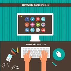 infografias community manager - Buscar con Google