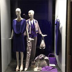 """Donne Vincenti su Instagram: """"#donnevincenti #newwindow #springsummer2016 #look #multicolor #driesvannoten #pleinsud #fashionwindow #shopping #albafashion"""""""