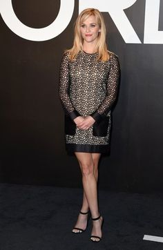 Reese Witherspoon Photos Photos - Tom Ford Autumn/Winter 2015 Womenswear Collection Presentation..Milk Studios, Hollywood, California..February 20, 2015..Job: 150220A1..(Photo by Axelle Woussen/Bauer-Griffin)..Pictured: Reese Witherspoon. - Celebs at the Tom Ford 2015 Womenswear Presentation
