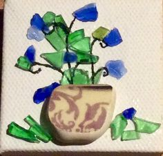 SOLD - Mini flower pot